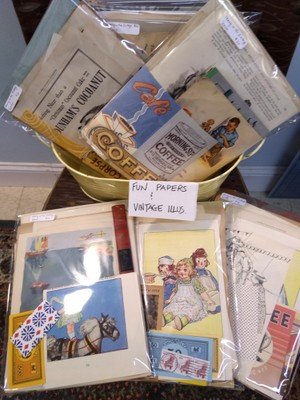 Vintage Paper Packs - small